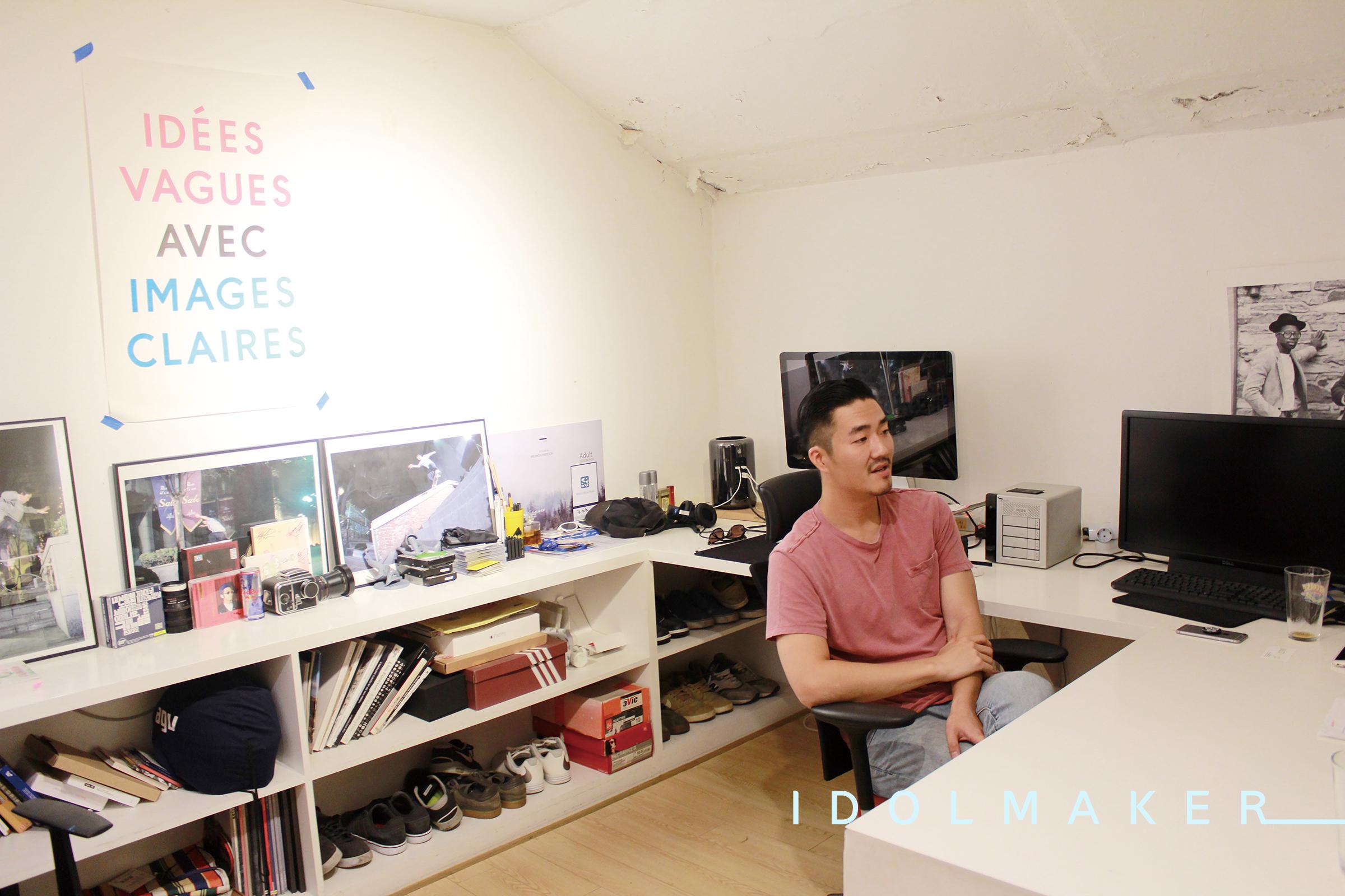 〈아이돌메이커〉 뮤직비디오 감독 김성욱