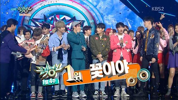JBJ 뮤직뱅크 1위 수상 장면 | KBS